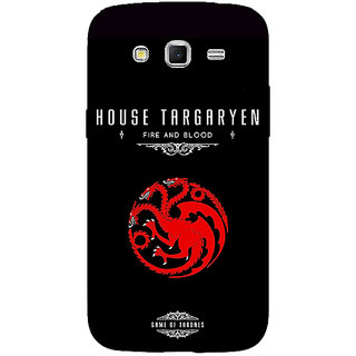 Enhance Your Phone Game Of Thrones GOT House Targaryen  Back Cover Case For Samsung Galaxy Grand 2 E70144