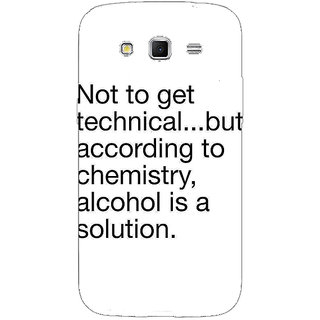 Enhance Your Phone Alcohol Quote Back Cover Case For Samsung Galaxy Grand 2 E71310