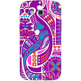 Enhance Your Phone Paisley Beautiful Peacock Back Cover Case For Samsung Galaxy Grand 2 E71580