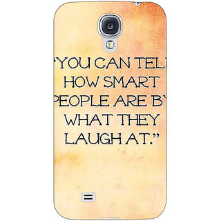 Enhance Your Phone Quote Back Cover Case For Samsung Galaxy S4 I9500 E61357