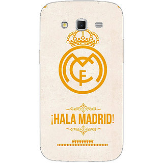 Enhance Your Phone Real Madrid Back Cover Case For Samsung Galaxy Grand 2 E70593