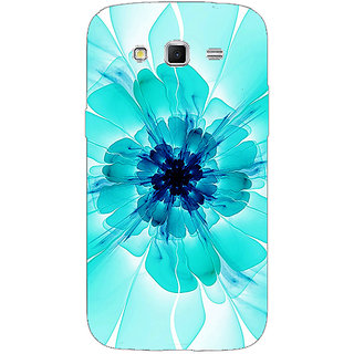 Enhance Your Phone Abstract Flower Pattern Back Cover Case For Samsung Galaxy Grand 2 E71526