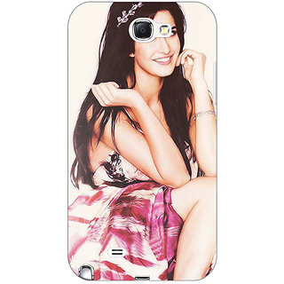 Enhance Your Phone Bollywood Superstar Katrina Kaif Back Cover Case For Samsung Galaxy Note 2 N7100 E80979