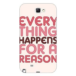 Enhance Your Phone Good Quote Back Cover Case For Samsung Galaxy Note 2 N7100 E81201
