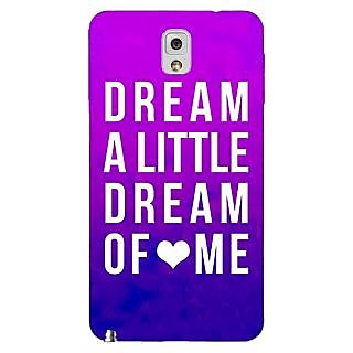 Enhance Your Phone Dream Love Back Cover Case For Samsung Galaxy Note 3 N9000 E90091