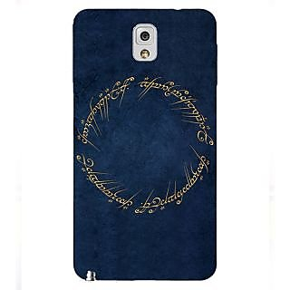 Enhance Your Phone LOTR Hobbit  Back Cover Case For Samsung Galaxy Note 3 N9000 E90371