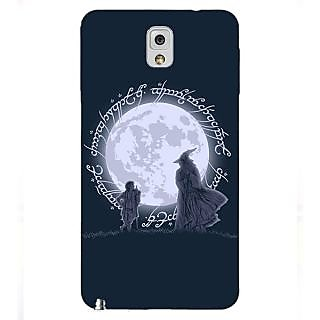 Enhance Your Phone LOTR Hobbit  Back Cover Case For Samsung Galaxy Note 3 N9000 E90378