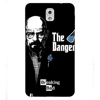 Enhance Your Phone Breaking Bad Heisenberg Back Cover Case For Samsung Galaxy Note 3 N9000 E90406