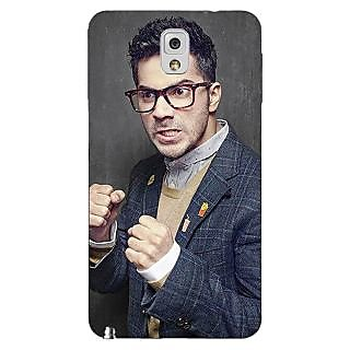 Enhance Your Phone Bollywood Superstar Varun Dhawan Back Cover Case For Samsung Galaxy Note 3 N9000 E90906