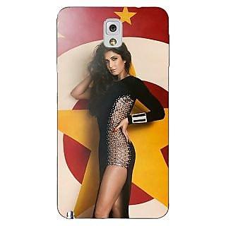 Enhance Your Phone Bollywood Superstar Katrina Kaif Back Cover Case For Samsung Galaxy Note 3 N9000 E90986