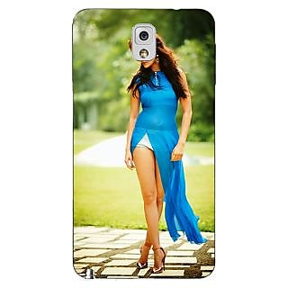 Enhance Your Phone Bollywood Superstar Anushka Sharma Back Cover Case For Samsung Galaxy Note 3 N9000 E90987