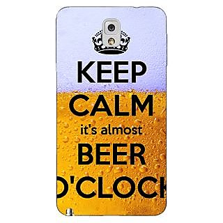 Enhance Your Phone Beer Quote Back Cover Case For Samsung Galaxy Note 3 N9000 E91259