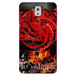 Enhance Your Phone Game Of Thrones GOT Targaryen Back Cover Case For Samsung Galaxy Note 3 N9000 E91531