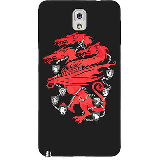 Enhance Your Phone Game Of Thrones GOT House Lannister  Back Cover Case For Samsung Galaxy Note 3 N9000 E90157