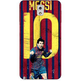 Enhance Your Phone Barcelona Messi Back Cover Case For Samsung Galaxy Note 3 N9000 E90528