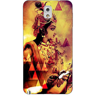 Enhance Your Phone Lord Krishna Back Cover Case For Samsung Galaxy Note 3 N9000 E91280