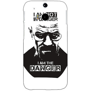 Enhance Your Phone Breaking Bad Heisenberg Back Cover Case For HTC One M8 E140404