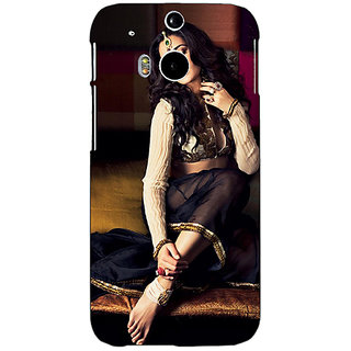 Enhance Your Phone Bollywood Superstar Nargis Fakhri Back Cover Case For HTC One M8 E141049