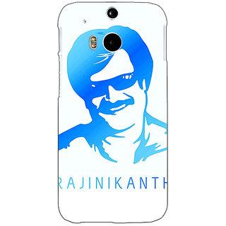 Enhance Your Phone Rajni Rajanikant Back Cover Case For HTC One M8 E141491