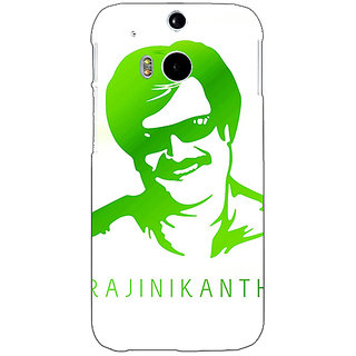 Enhance Your Phone Rajni Rajanikant Back Cover Case For HTC One M8 E141492