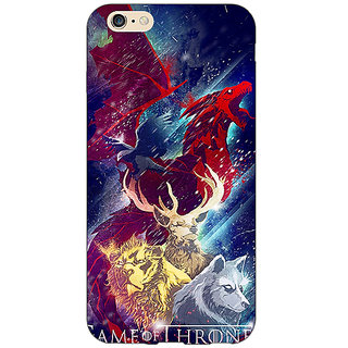 Enhance Your Phone Game Of Thrones GOT House Targaryen  Back Cover Case For Apple iPhone 6 E150148