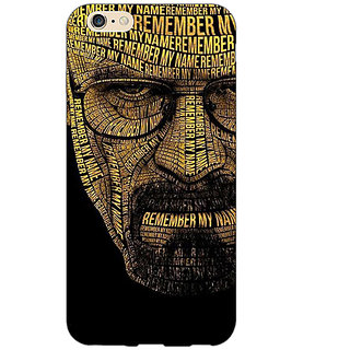 Enhance Your Phone Breaking Bad Heisenberg Back Cover Case For Apple iPhone 6 E150430