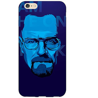 Enhance Your Phone Breaking Bad Heisenberg Back Cover Case For Apple iPhone 6 E150431