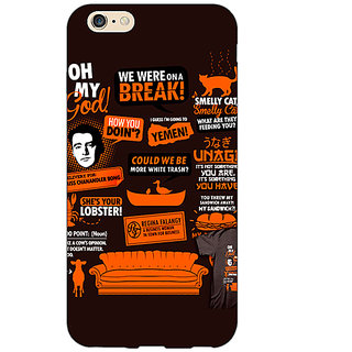 Enhance Your Phone FRIENDS Back Cover Case For Apple iPhone 6 E150449