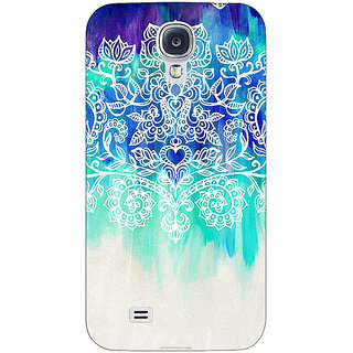 Enhance Your Phone Royal Queen Pattern Back Cover Case For Samsung Galaxy S4 Mini I9192 E160231