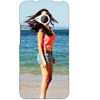 Enhance Your Phone Bollywood Superstar Shruti Hassan Back Cover Case For HTC One M7 E191013