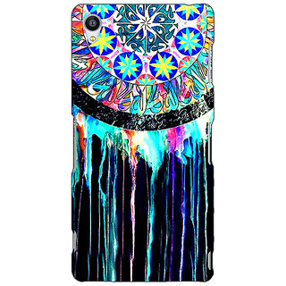 Enhance Your Phone Abstract Dream Catcher Pattern Back Cover Case For Sony Xperia Z3 E261509