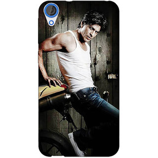 Enhance Your Phone Bollywood Superstar Shahrukh Khan Back Cover Case For HTC Desire 820 Dual Sim E300947