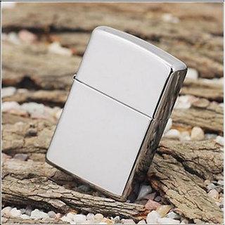 Silver Zippo type cigarette Lighter