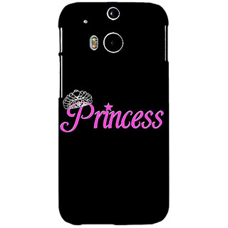 Enhance Your Phone Princess Back Cover Case For HTC One M8 Eye E331398