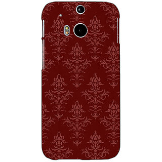 Enhance Your Phone Indian Pattern Back Cover Case For HTC One M8 Eye E331437