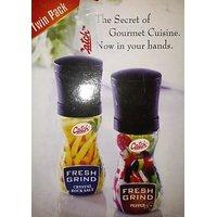 Salt And Black Papper Pack With Inbuilt Grinder