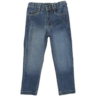 Beebay Blue in color Color Washed Jeans For men