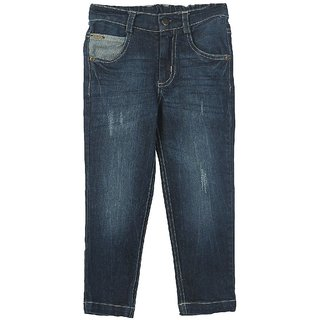 Beebay Blue in color Jeans For Men Pattern solid