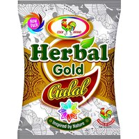 Cock Brand Herbal Gold Gulal (Pack Of 5 Each Pack 80gm) Holi Colours