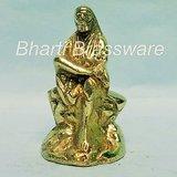 Beautiful Brass Statue/idol/figurine/murti Of Lord Sai Baba BSAI106