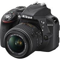 Nikon D3300 (Body With AF-S 18-55 Mm VR II Kit Lens) DSLR Camera