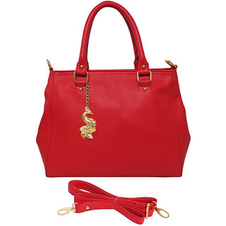 Peacock PU Red Hand Bag AILB-2035