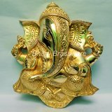 Religious Brass Statue/idol/Figurines Of Lord Ganesh/ganpati BGNS129