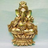 Religious Brass Statue/idol/Figurines Of Lord Ganesh/ganpati BGNS131