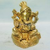 Religious Brass Statue/idol/Figurines Of Lord Ganesh/ganpati BGNS135