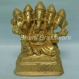 Religious Brass Statue/idol/Figurines Of Lord Ganesh/ganpati BGNS120