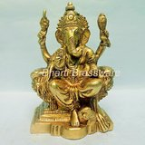 Religious Brass Statue/idol/Figurines Of Lord Ganesh/ganpati BGNS104