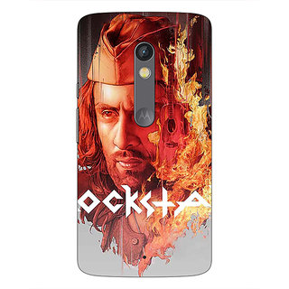 Enhance Your Phone Bollywood Superstar Ranbir Kapoor Rockstar Back Cover Case For Moto X Play E660959