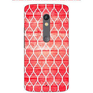 Enhance Your Phone Morocco Pattern Back Cover Case For Moto X Play E661411