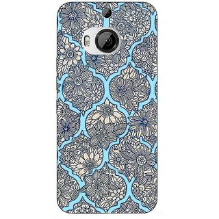 Enhance Your Phone Sky Morroccan Pattern Back Cover Case For HTC M9 Plus E680244